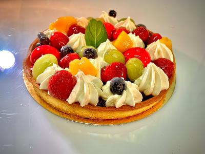 Tarta owocowa - Ciasta